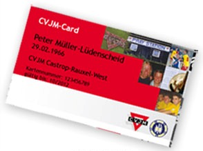 Layout CVJM-Card