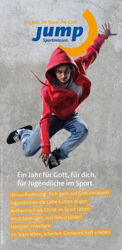 Jump Flyer zum download